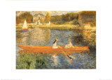 The Seine at Asnieres Posters par Pierre-Auguste Renoir