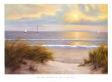 Gentle Breeze Print by Diane Romanello