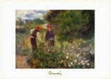 Floraison Posters by Pierre-Auguste Renoir