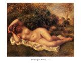 Nude Print by Pierre-Auguste Renoir