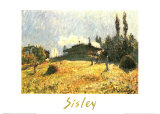 Station at Sevres Print by Alfred Sisley
