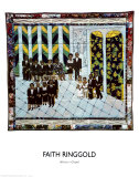 Matisse's Chapel Print by Faith Ringgold
