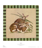 Rabbits Poster by Constance Shryack