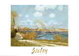 Bougival Poster by Alfred Sisley