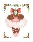 Ballerina Bear I Posters by Carol Robinson