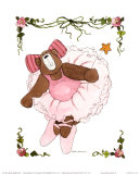 Ballerina Bear II Posters by Carol Robinson