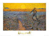 The Sower, c.1888 Poster van Vincent van Gogh