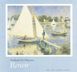 The Seine at Argenteuil Posters by Pierre-Auguste Renoir