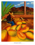 Mango Man Posters af William T. Templeton