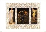 Pre Raphaelites II Print