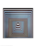 Vonal Ksz Art by Victor Vasarely