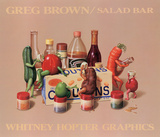 Salad Bar Poster by Greg Brown