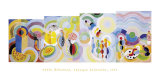 Distant Journeys Affiches par Sonia Delaunay-Terk