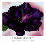 Petunia, 1925 Prints by Georgia O&#39;Keeffe