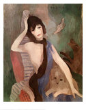 Portrait of Mlle. Chanel Posters av Marie Laurencin