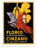 Florio und Cinzano, 1930 Kunstdrucke von Leonetto Cappiello