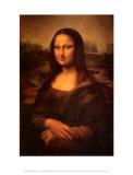 Mona Lisa, c.1507 Kunst af Leonardo da Vinci