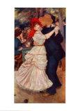 Der Tanz in Bougival Kunstdrucke von Pierre-Auguste Renoir