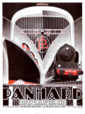 Panhard Lines Poster by Alexis Kow
