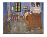 Bedroom At Arles Art by Vincent van Gogh