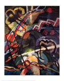 Composition Storm Poster av Wassily Kandinsky