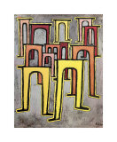 Viaducts Break Ranks Posters by Paul Klee