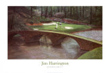 Augusta - 12e trou Affiches par Jim Harrington