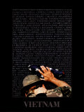 Vietnam Memory Wall Art by Peter Marlow