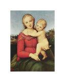 Cowper Madonna Art by  Raphael