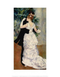 Dance in the City, 1883 Art by Pierre-Auguste Renoir