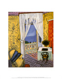 Interior with a Violin Case Posters av Henri Matisse