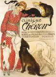 Clinique Cheron, c.1905 Prints by Théophile Alexandre Steinlen