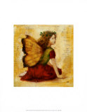 Autumn Fairy Print by Mary Mackey
