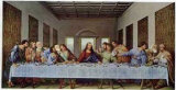 The Last Supper,1497 Poster af Leonardo da Vinci