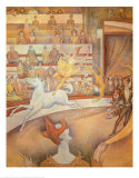 Circus Prints by Georges Seurat