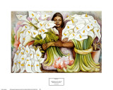 Vendedora de Alcatraces Prints by Diego Rivera