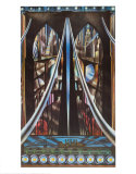 Pont de Brooklyn, New York Poster par Joseph Stella