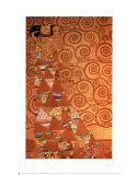 Expectation, Stoclet Frieze, c.1909 Affiches par Gustav Klimt