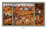 Der Garten der Lüste, ca. 1480 Poster von Hieronymus Bosch