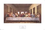 La última cena, 1497 Láminas por  Leonardo da Vinci