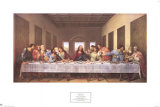 The Last Supper,1497 Prints by  Leonardo da Vinci