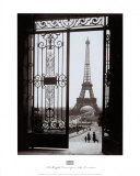 Eiffel Tower from the Trocadero Prints by  Gall