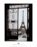 La torre Eiffel desde el Trocadero Láminas por  Gall