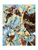 Composition Print by Jackson Pollock