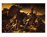 Raft of Medusa Plakat av Théodore Géricault