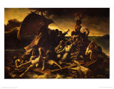 Raft of Medusa Prints by Th&#233;odore G&#233;ricault