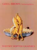 Bananappeal Plakater af Greg Brown