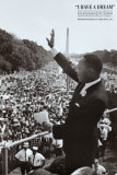 King I Have a Dream Posters