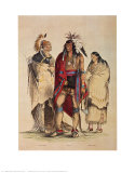 North American Indians Prints by  Currier & Ives