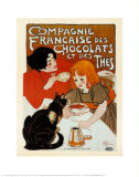 Compagnie des Chocolats et des Thes Posters by Th&#233;ophile Alexandre Steinlen